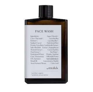 by mukk FACE WASH white willow bark + algae 100ml