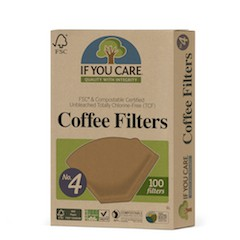 If You Care Ubleket og klorfrie Kaffefilter