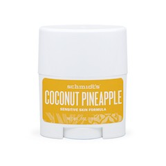 REISESTØRRELSE Schmidt`s Coconut + Pineapple deodorant stick (Sensitive Skin)