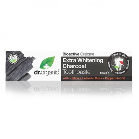 Dr. organic charcoal toothpaste