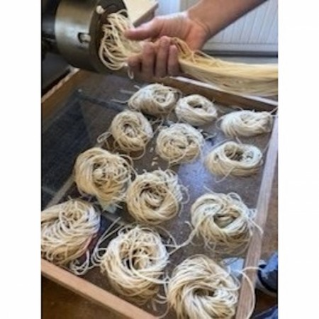 Økologisk pasta fra Vidaråsen i Andebu