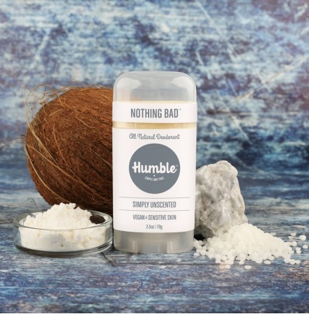 Humble Deodorant Vegansk for sensitiv hud - simply unscented