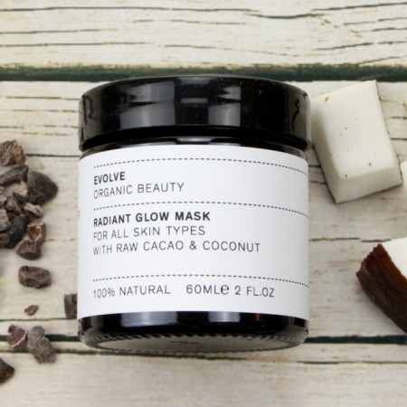 EVOLVE Radiant Glow Mask - cacao+coconut edition - 30ml