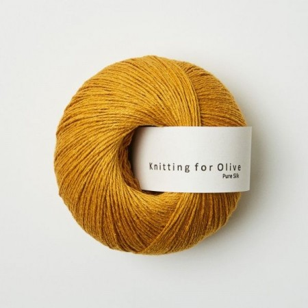 Pure Silk - solsikke, Knitting for Olive