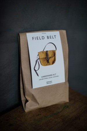 FIELD BELT HARDWARE KIT – NICKEL - SAMLEPAKKE MED UTSTYR TIL Field Belt FRA MERCHANT AND MILLS