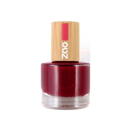 ZAO Nailpolish 668 Passion red