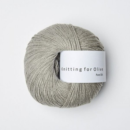 Pure Silk - lammeøre, Knitting for Olive