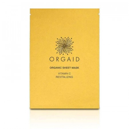 ORGAID Vitamin C & Revitalizing Organic Sheet Mask (1 stk.)
