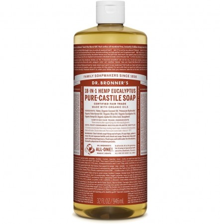 Dr. Bronner PURE-CASTILE LIQUID SOAP Eucalyptus 475 ml